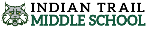 Indian Trail Middle School logo centered